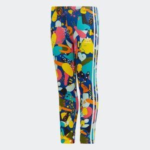 Adidas Trefoil Color Girls Leggings